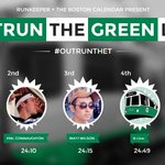 RT @BostonDotCom: There was a big, green smack down on Comm Ave. this morning http://t.co/eNEowXrVX0 #OutRuntheT http://t.co/9CpSS8rTk7