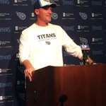 RT @TitansAmie: #Titans head coach Ken Whisenhunt addresses the media to kick of #TitansCamp http://t.co/zqvvZSb5lm