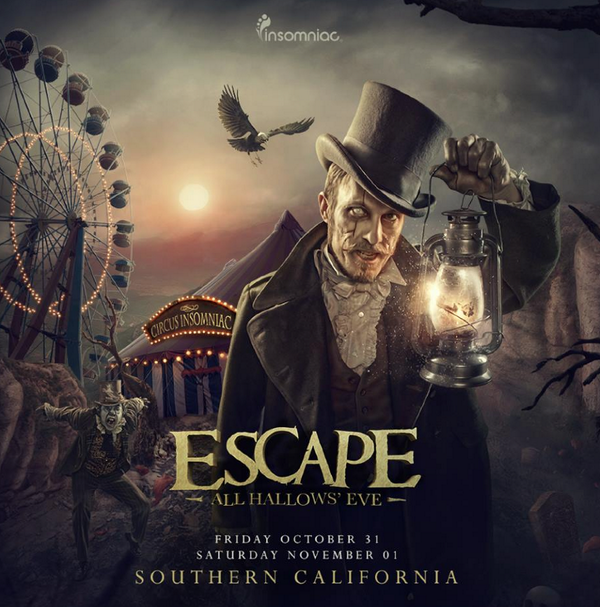 You'll struggle to find festival artwork as beautiful as this for Escape; All Hallows Eve (@insomniacevents) #Escape http://t.co/EtjsuJUNVI