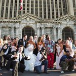 "The real story behind this viral wedding photo and its ""uninvited"" guests http://t.co/srykzeaTmE http://t.co/Udx1K9FK7k"