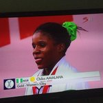 Here she is Chika. Commonwealth gold medallist http://t.co/PNvwUDxmFS