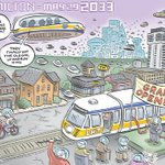 Throwback Friday - Going back to the future with #hamOnt #LRT http://t.co/50OgLh1OGY