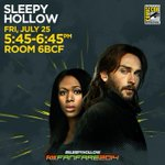Catch the cast of #sleepyhollow at @Comic_Con today! #SDCC #FOXSDCC http://t.co/8MUzFzkTCr