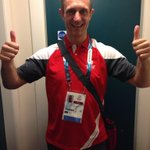 All set for my first shift @Glasgow2014 #excited #cannaewait http://t.co/Bs7dV59DEA