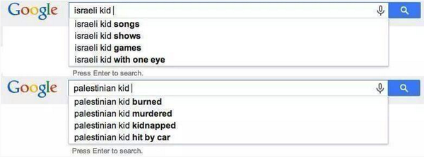Yusuf Özhan (@Yusuf_Ozhan): Google'ın gözünden İsrailli ve Filistinli çocukların hayatları… http://t.co/GN6gJ4TiST
