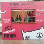 GLASGOW! Your #edfringe box office is now OPEN at Queen Street station. Opening hours here: https://t.co/OtI8k4M0Pv http://t.co/APl5rbl1iD