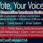 RT @FusionSaintJohn: Save the date for our #election2014 events! #canconnect14 #nbpoli http://t.co/2zyFlTgUTU