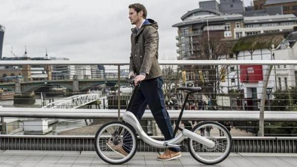 The @jivebike is a folding bike for chic geeks: #FuturisticFriday #Arduino