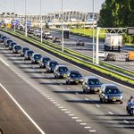 Procession of hearses carrying #MH17 victims in the Netherlands http://t.co/znHOUHsb17