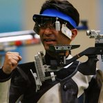 Indias #AbhinavBindra wins gold medal in 10m Air Rifle event in Commonwealth Games. #CWG2014 http://t.co/BcI6GQKLkJ