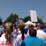 RT @ToddKazakiewich: Our view of the #MarketBasket rally...it certainly feels bigger than Monday. #wcvb http://t.co/rMYw6ceP11