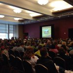 Just one of 4 packed welcome sessions. Welcome #FutureZips! #UAkronVisit http://t.co/Hx3tSIPw49