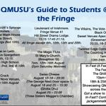 Going to @edfringe? Weve made a handy guide to all the shows brought to you by/starring @QMUniversity students! http://t.co/mvPd0fNJcV