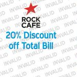 RT @iLoveHD_: 20% discount off total food bill at The Rock Cafe #Huddersfield http://t.co/jxiqAM8hh1