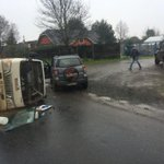 Accidente en #LaUnion #Osorno http://t.co/N7bqLXKfOO