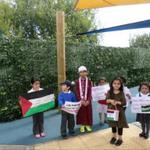 Children @ little sparkles nursery raised £1,278.64 for Palestine. May Allah remove the sufferings of the Ummah. http://t.co/d7BNHPSdzY