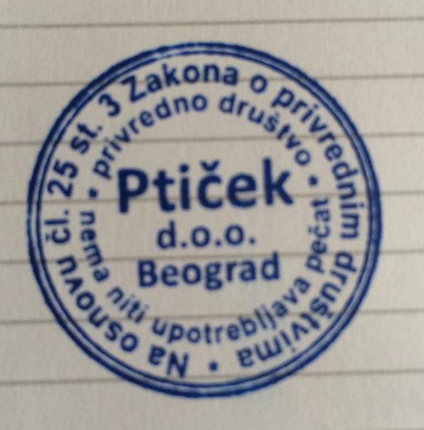 Otvorio sam svoju firmu i ovo je firmin zvanični pečat: http://t.co/t9HMzaPN3T