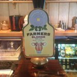 Farmers blonde is the guest beer this week #whitby @BradfieldBrew http://t.co/woRRrm5NBN