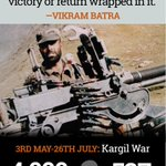 RT @newsflicks: We salute #VikramBatra on #KargilVijayDiwas #Kargil #IndianArmy http://t.co/PaT7ydEUm6