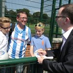 Met some great people at the @htafcdotcom open day for @examiner Story online soon & in the paper tomorrow. http://t.co/sTQcLFNSZq