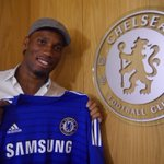 RT @chelseafc: Welcome back, @didierdrogba! http://t.co/WBjRzdFueR #CFC http://t.co/S2lPNYxwwx