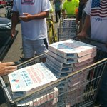 Name of church that delivered 150 pizzas to Market Basket rally: Assumption of the Virgin Mary in Dracut #7news http://t.co/83KrGVnQaX