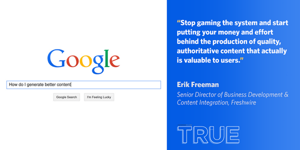 5 tips from @Freshwire #SEO expert Erik Freeman on how to attract solid search ratings http://t.co/6dkT2T8OTR #FHTrue http://t.co/E48oqMimRy