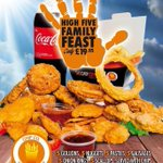 RT @ChipCompany_: High 5 - The weekend has landed, enjoy the Chip Co family meal deal tonight! @love_belfast http://t.co/aaMNqgNlzO