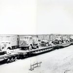 1940 #Lethbridge railyard train load of equipment going north to build Alaska highway #yql http://t.co/x0JGfsGdOw