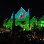 RT @FahertyJohn: Deer + butterfly = magic. Wow. #lumenocity this is crazy cool. @HaileFdn @WashingtonPark @OTRCINCY http://t.co/aNVTzZeUAl