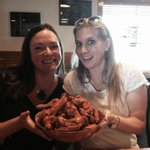 Introducing my out-of-town cousin to @Duffs_Wings #Buffalo and she digs it! ???????? http://t.co/ruir2NqRc6