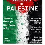 RT @georgegalloway: It is important you dont leave me standing alone for Palestine in Leeds tomorrow ... http://t.co/frS6PW4R4b