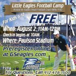 Preregistration for the Little Eagles Football Camp closes tonight at midnight. Register now! http://t.co/j0yNWrqOEr http://t.co/LRmWx2OKOx