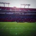 Always love walking into @RJStadium. Field looks great. Imagine the possibilities. #GoBucs #WhyNotUs @TBBuccaneers http://t.co/UAvEoN9EKy