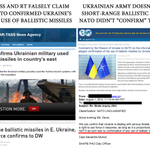 "RT @JuliaDavisNews: #Russias media exposed, lying about #Ukraine (AGAIN). NATO didnt ""confirm"" UA using short range ballistic missiles. http://t.co/ma2JZmNmBa"