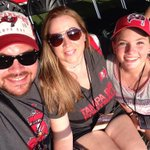 Family night at Bucs practice. #GoBucs @TBBuccaneers @RJStadium #itsabucslife http://t.co/Ycitf9ff6C