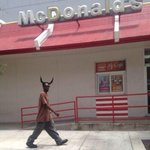 "???? ""@TheOGKooLAiD: I JUST SPOTTED THE ANTI CHRIST AT MCDONALDS http://t.co/2K0HkniuzN"""