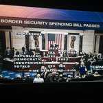 The House just approved #HR5230, the Border Supplemental appropriations bill. http://t.co/Z5pmLyCQaT