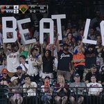 .@SFGiants fans at Citi Field. http://t.co/Nfajj1KDSL