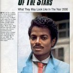 """What Michael Jackson may look like in the year 2000,"" Ebony Magazine, 1985 http://t.co/aOsMuJx26d"