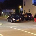 Police take pictures of sedan at shooting scene at Jefferson & Peckham @wgrz http://t.co/p8dA6tUdHo