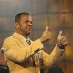 A photo by @jmccoyphoto shows @Andre_Reed83 enjoying his new gold jacket: http://t.co/ISVaBL6BzW