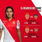 Mañana regresa Falcao, después de 6 meses! http://t.co/0ND8BN8Mew