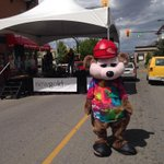 RT @maddycav: Look at the adorable mascot! #downtownkamloops http://t.co/vKnaJzDHGq