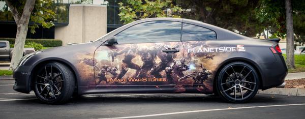 Sony Online Ent. (@SonyOnline): Sweet #Planetside2 ride @PS_TRay! #SOEBlockParty http://t.co/bAh1sDjgv3