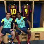 "RT @barcastuff: Tw Etoo: ""With my brother @TeamMessi... Like we never stopped playing together! We were back in 2006 ;) http://t.co/51UWfYoWrD"" [@setoo9]"