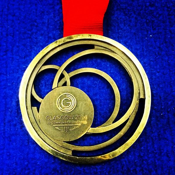 Here is my Commonwealth Medal! #Bronze in the 100m Backstroke #TeamEngland http://t.co/Sb1RNrnS7G