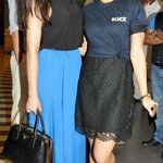 RT @krunalmevada8: The Kicks star @Asli_Jacqueline wth ItemGirl @NargisFakhri at a special screening for #Kick #KICKDAY GO!Jcques* Fans http://t.co/9xoFyuacon