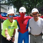 """With great power, comes great responsibility"" @CommodoreBldrs saves the day! #faneuilhall #commodorebuilders #boston http://t.co/2ClIeFoyHO"