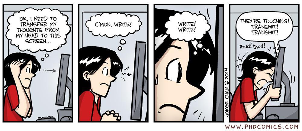 master thesis comics